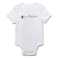 Fly Fishing Girl Onesie