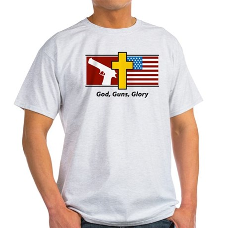 God Guns Glory Light T-Shirt