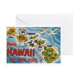 Hawaii HI Greeting Cards (Pk of 20)