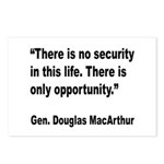 MacArthur Opportunity Quote Postcards (Package of