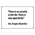 MacArthur Opportunity Quote Banner