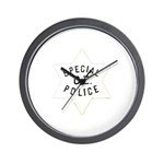 Canal Zone Police Wall Clock