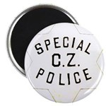 Canal Zone Police Magnet