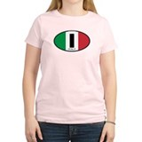Italy Oval Colors T-Shirt