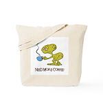 Cofee Alien Tote Bag