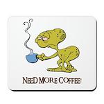 Cofee Alien Mousepad