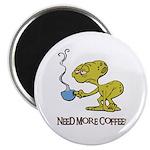Cofee Alien Magnet