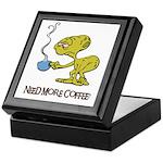 Cofee Alien Keepsake Box