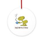 Cofee Alien Keepsake (Round)