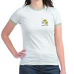 Cofee Alien Jr. Ringer T-Shirt