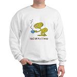 Cofee Alien Sweatshirt