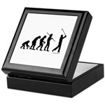 Golf Evolution Keepsake Box
