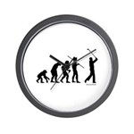 Golf Evolution Wall Clock