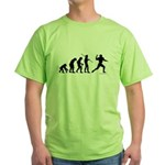 Football Evolution Green T-Shirt