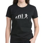 Football Evolution Women's Dark T-Shirt