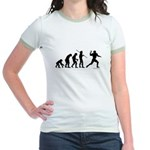 Football Evolution Jr. Ringer T-Shirt