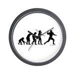 Football Evolution Wall Clock