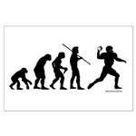 Football Evolution Large Poster