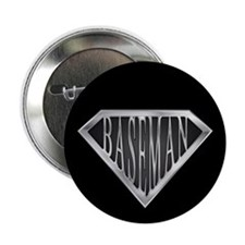 "Super Baseman(metal) 2.25"" Button (10 pack)"