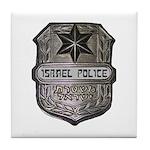 Israeli Police Tile Coaster