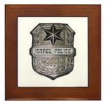 Israeli Police Framed Tile