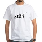Fishing Evolution White T-Shirt