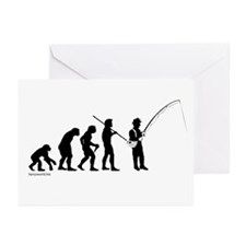 Fishing Evolution Greeting Cards (Pk of 20)