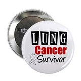"Lung Cancer Survivor 2.25"" Button"