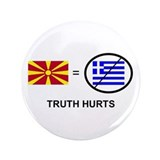 "Macedonian not Greek 3.5"" Button (100 pack)"