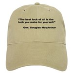 MacArthur Best Luck Quote Cap