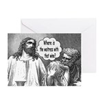 Jesus Wine Greeting Cards (Pk of 10)