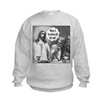 Jesus Wine Kids Sweatshirt