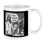 Jesus Wine Dark Mug