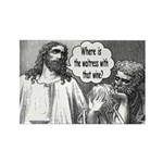 Jesus Wine Rectangle Magnet (100 pack)