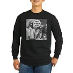 Jesus Wine Long Sleeve Dark T-Shirt
