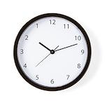 Backwards Wall Clock