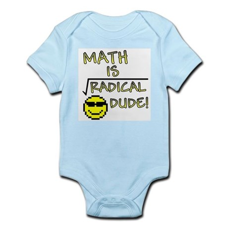 Math is Radical Infant Creeper