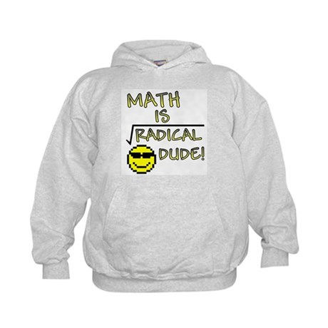 Math is Radical Kids Hoodie