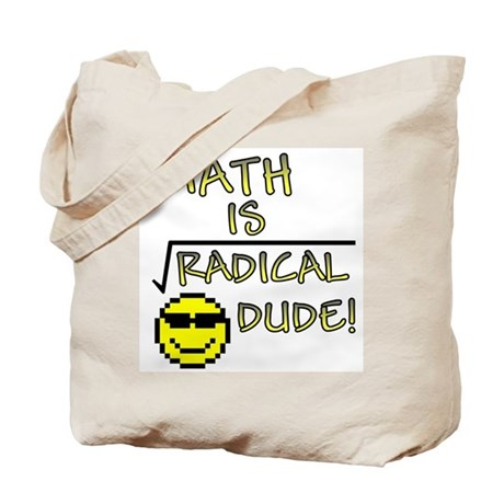 Math is Radical Tote Bag