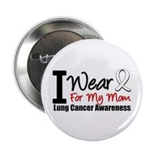 "I Wear Pearl For My Mom 2.25"" Button"