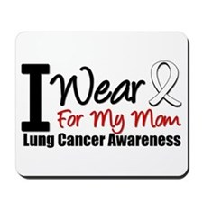 I Wear Pearl For My Mom Mousepad