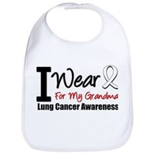 I Wear Pearl For My Grandma Bib