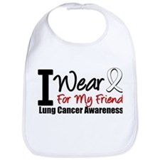 I Wear Pearl For My Friend Bib