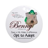 Holiday Benny Keepsake (Round)