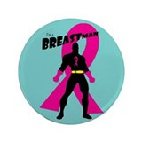 "Breastman (circle) 3.5"" Button"