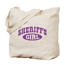 Sheriff's Girl Tote Bag