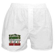 Funny Spaghetti and Meatballs Boxer Shorts