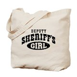 Deputy Sheriff's Girl Tote Bag