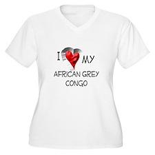 I Love My African Grey Congo T-Shirt