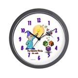 Wizard's Alphabet Blocks - Wall Clock